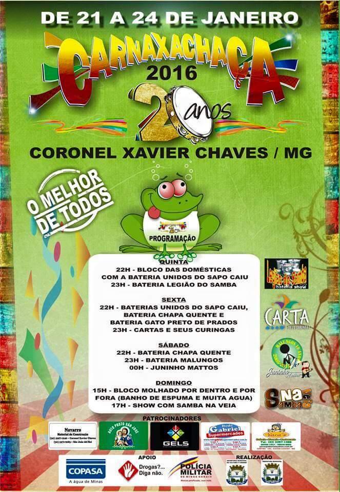 20° CARNAXACHAÇA em Coronel Xavier Chaves